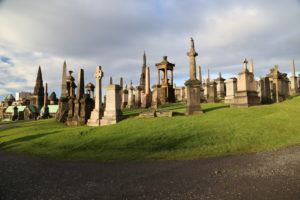 Glasgow Necropolis (Cimitero Monumentale).