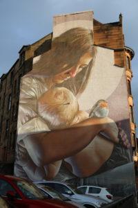 Glasgow, murales.