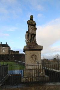 Monumento a Robert The Bruce, il vero Braveheart.