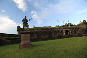 Boer War Memorial e Castello di Sirling.