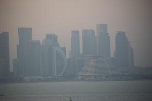 Doha, vista dal porto