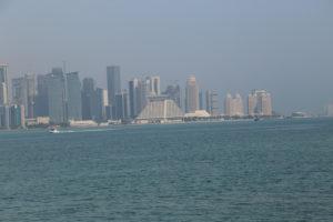 Doha, lo skyline