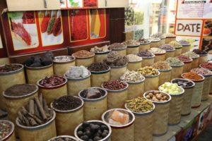 Souk delle spezie aromatiche