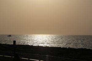 Tramonto sul Golfo Persico