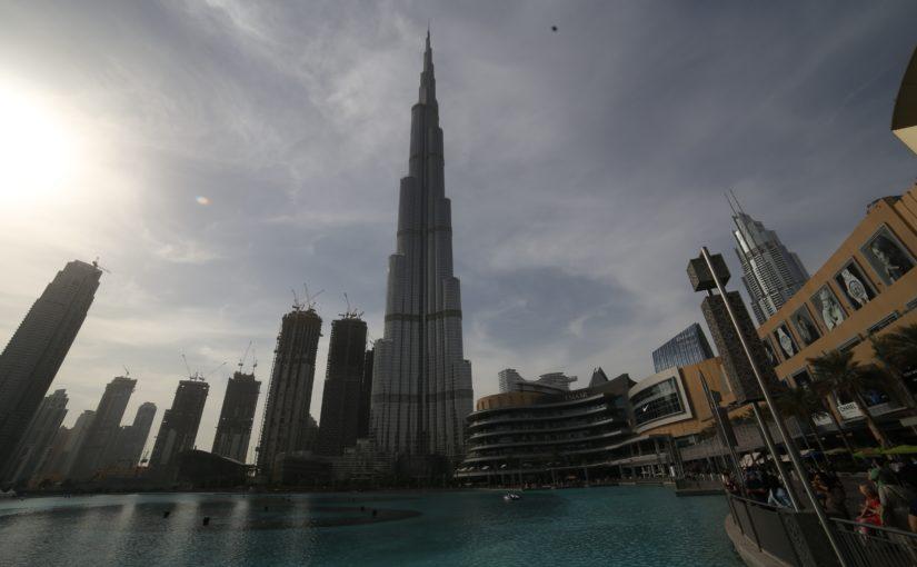 The Dubai Fountain e il Burj Khalifa