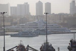 Vista dal terminal Crociere di Dubai