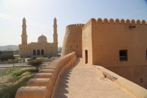 Moschea del Sultano Qaboos vista da Forte di Bukha