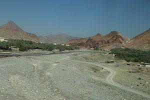 Paesaggio da Muscat a Nizwa - Sultanato dell'Oman