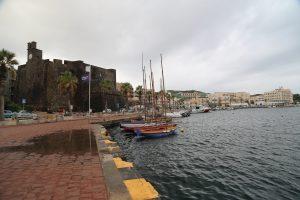 Il lungomare di Pantelleria Capoluogo.