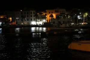 Il Capoluogo di notte.