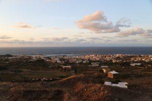 Pantelleria Capoluogo vista dall'Acropoli.