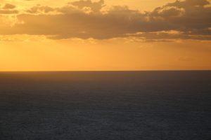 La costa tunisina vista dall'Acropoli.
