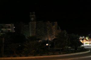 Il Castello Barbacane.