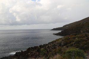 Dietro l'isola nei pressi di Scalette.
