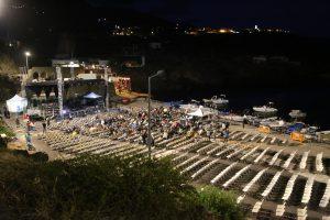 Porto di Scauri, in attesa del concerto di Venditti.