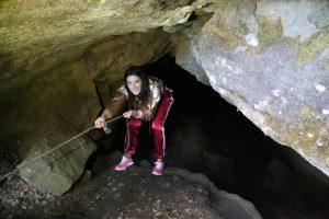 Montagna Grande, l'Ingresso della Grotta dei Briganti